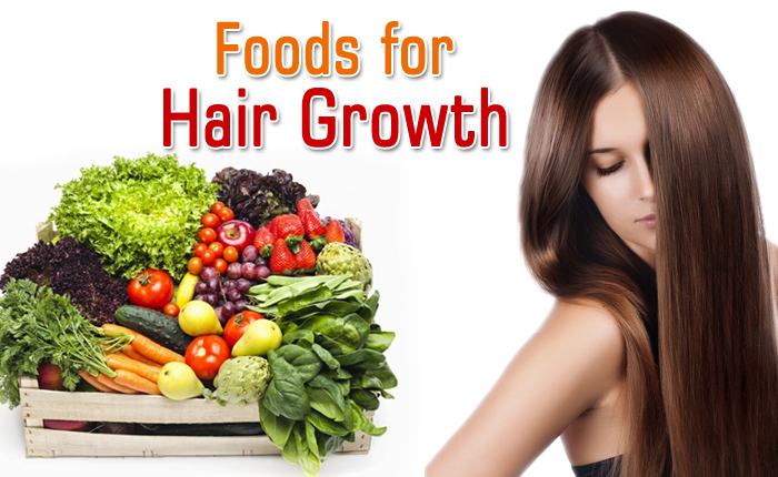 Grow Long and Thicken Hair Naturally and Faster - Foods-for-hair-growth