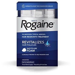 men's rogaine hair loss and hair regrowth treatment price