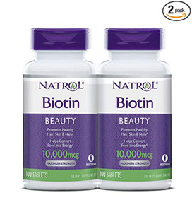 natrol biotin maximum strength tablets reviews