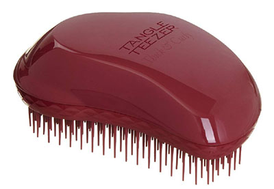 thick and curly tangle teezer