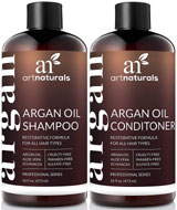 best shampoo and conditioners - ArtNaturals Organic Moroccan Argan Oil Shampoo and Conditioner