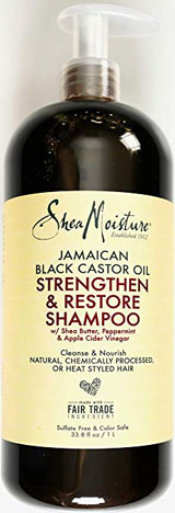 Shea Moisture Strengthen, Grow & Restore Shampoo and Conditioner